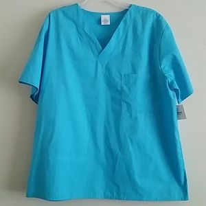 Tops - 2 FOR $12|Scrub Tops with Pocket